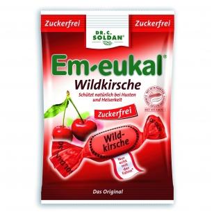 Em-eukal® Wildkirche (laukine vyšnia) pastilės su saldikliais