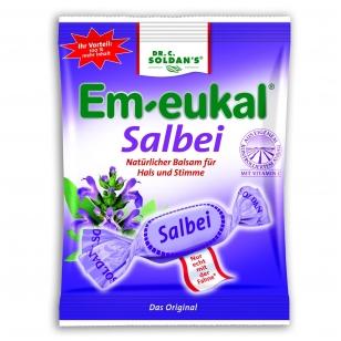 Em-eukal® Salbei (šalavijai) pastilės