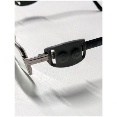 Apsauginis veido skydelis su specialiais laikikliais  (SMART CLIP) 21cm x 28,5cm 3