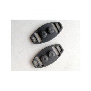 Apsauginis veido skydelis su specialiais laikikliais  (SMART CLIP) 21cm x 28,5cm 5