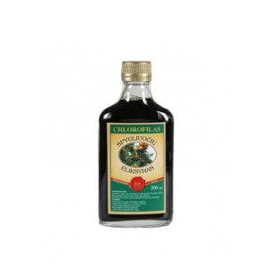 Chlorofilas - Spygliuočių eliksyras, 200ml (stikl. butelyje)