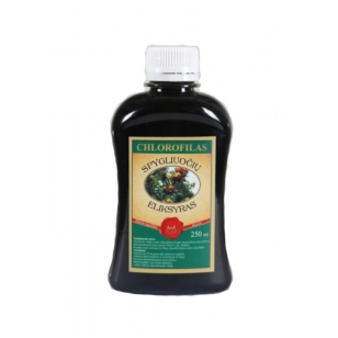 Chlorofilas - Spygliuočių eliksyras, 250ml (plast. butelyje)