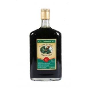 Chlorofilas - Spygliuočių eliksyras, 500ml (stikl. butelyje)