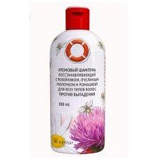 Gelbėjimo ratas®, Atstatomasis kreminis šampūnas su varnalėšomis, bičių pieneliu, ramunėlėmis, 300 ml