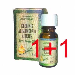 1 PERKI + 1 DOVANU! Eterinis arbatmedžio aliejus/ Tea Tree Oil
