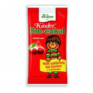 Em-eukal® Kinder LAUKINĖS VYŠNIOS pastilės su 5 vitaminais